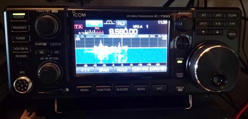 Icom-IC-7300-Front-2