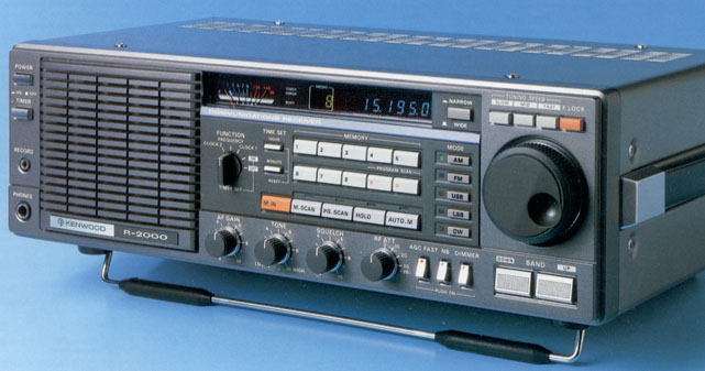 The Kenwood R-2000 (Photo: Universal Radio)