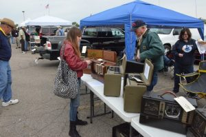 The outdoor exhibits (flea market) portion of the Hamvention is very popular and should hopefully be hosted on site.