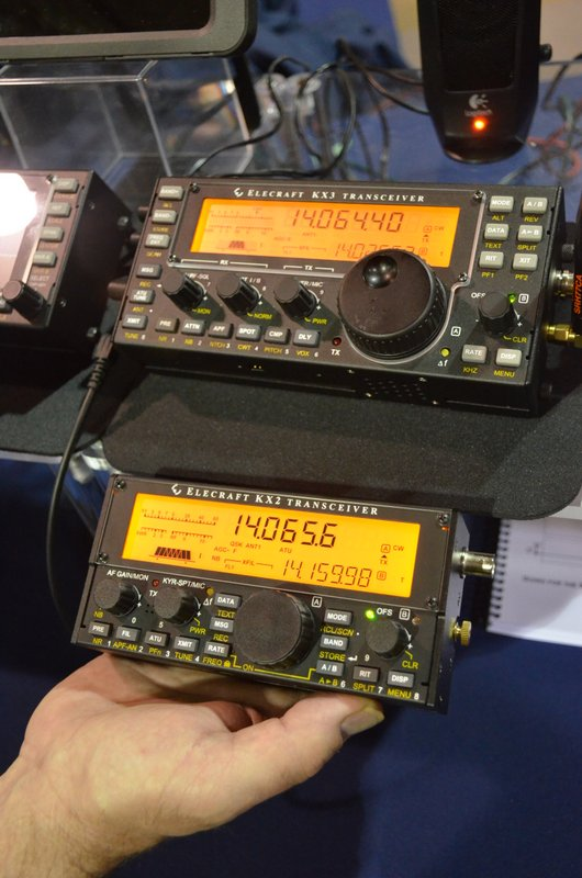 Photos of the new Elecraft KX2
