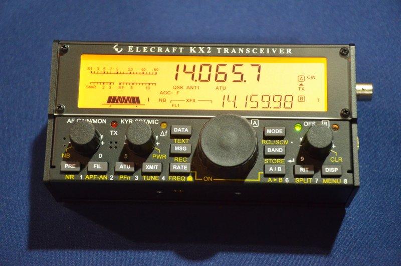 The Elecraft KX2 now has AM mode!