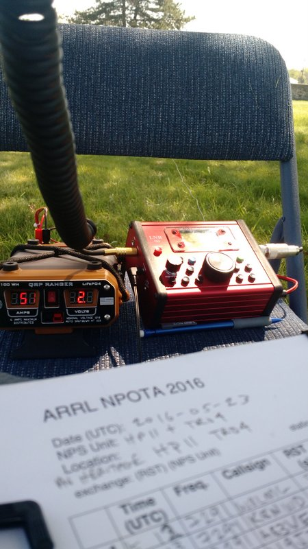 LNR-LD-11 and QRP Ranger NPOTA