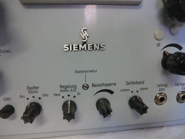 Siemens-Receiver-Panel