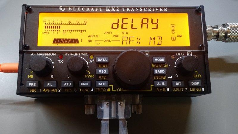 Elecraft-KX2-Delay-Audio-AM-Mode