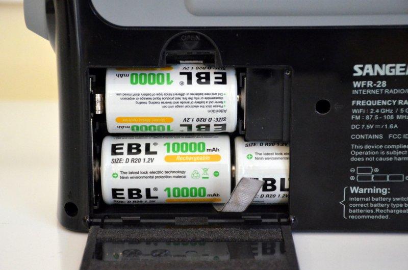 Sangean-WFR-28-Battery-Compartment