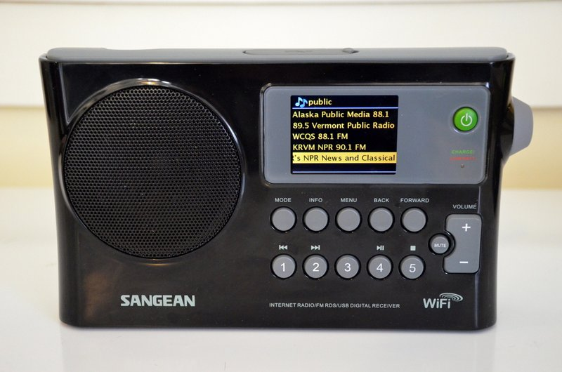 The Sangean WFR-28 WiFi Radio