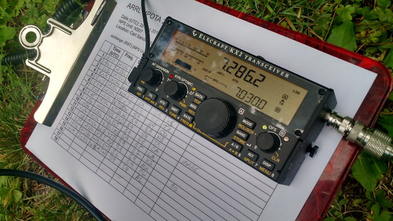 Elecraft-KX2-Clipboard-NPOTA
