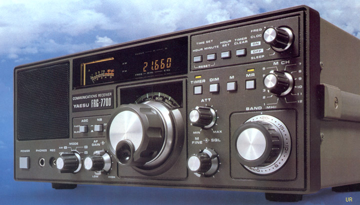 The Yaesu FRG-7700 (Photo: Universal Radio)