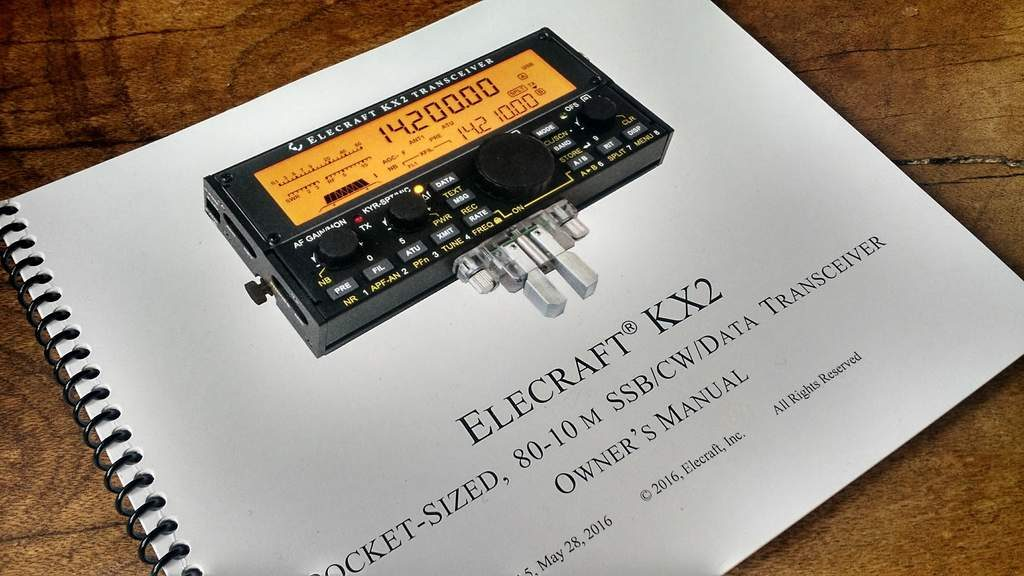 Elecraft manuals are superb; they're spiral bound, easy to read and comprehensive.