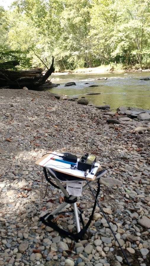 """Operating a NPOTA """"two-fer"""" under the Blue Ridge Parkway and in the Great Smoky Mountains National Park."""