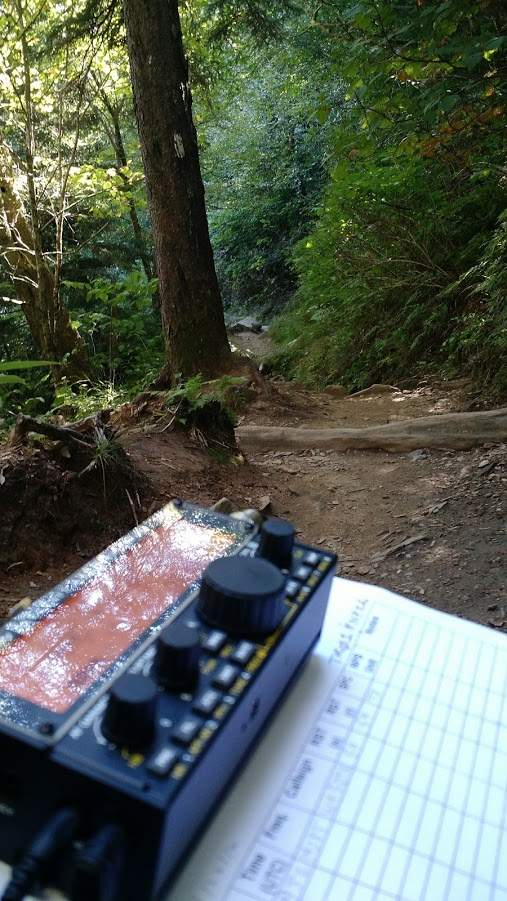 Activating PK01 (The Appalachian Trail) with the KX2