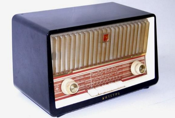 1958 Philips, model B3X85U valve receiver
