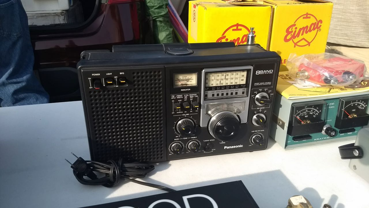 Panasonic RF-2200 at Hamvention