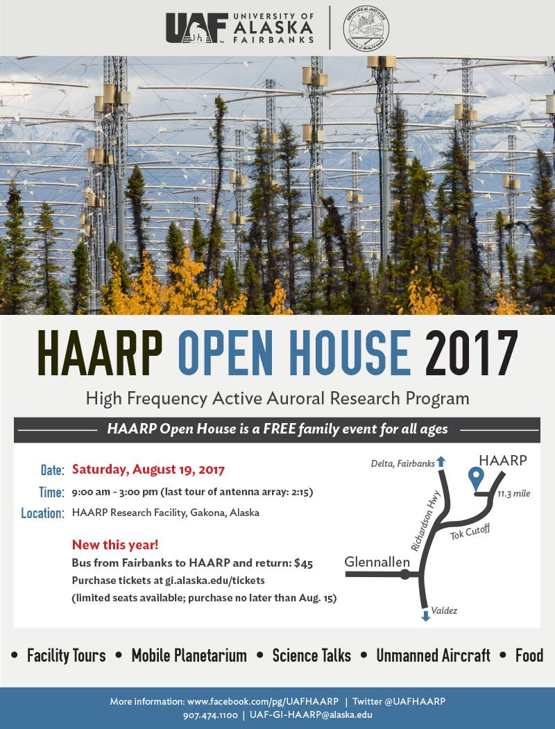 HAARP Open House: August 19, 2017 | The SWLing Post