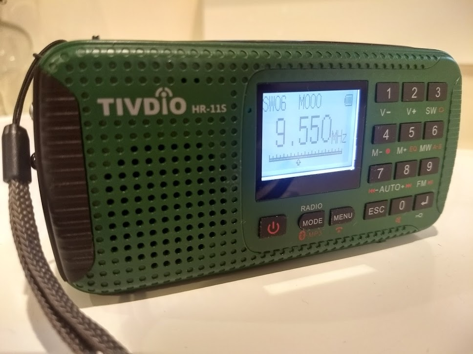 Shortwave Reception Is On Par With Other Dsp Self Ed Radios I Ve Tested As Write This Section Of The Review M Listening To China Radio