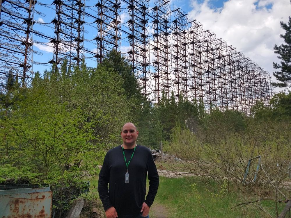Photo Gallery: Stephen makes a pilgrimage to the Duga-2 site