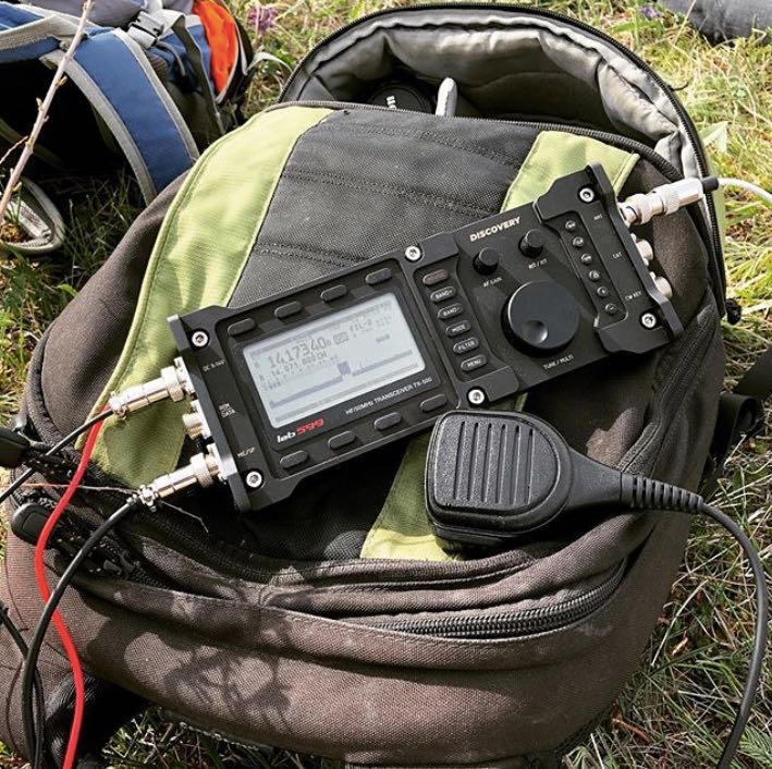 The lab599 Discovery TX-500 ruggedized portable QRP