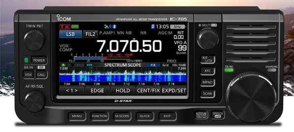 Could the Icom IC-705 be a shortwave listener's Holy Grail