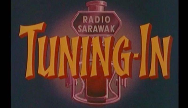 """1961 Film: """"Tuning In Radio Sarawak"""""""