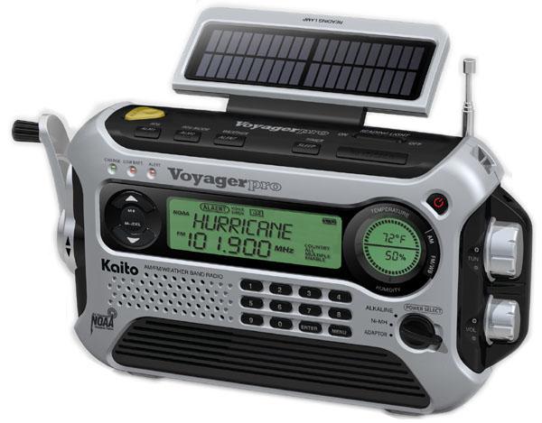 Kaito Ka600 Voyager Pro Shortwave Radio Index