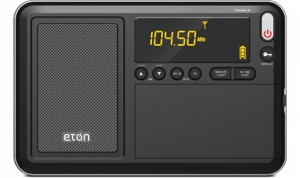 Eton Traveler III portable DSP radio