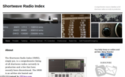 SW Radio Index